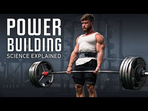 How To Get Bigger & Stronger At The Same Time (Powerbuilding Science Explained)