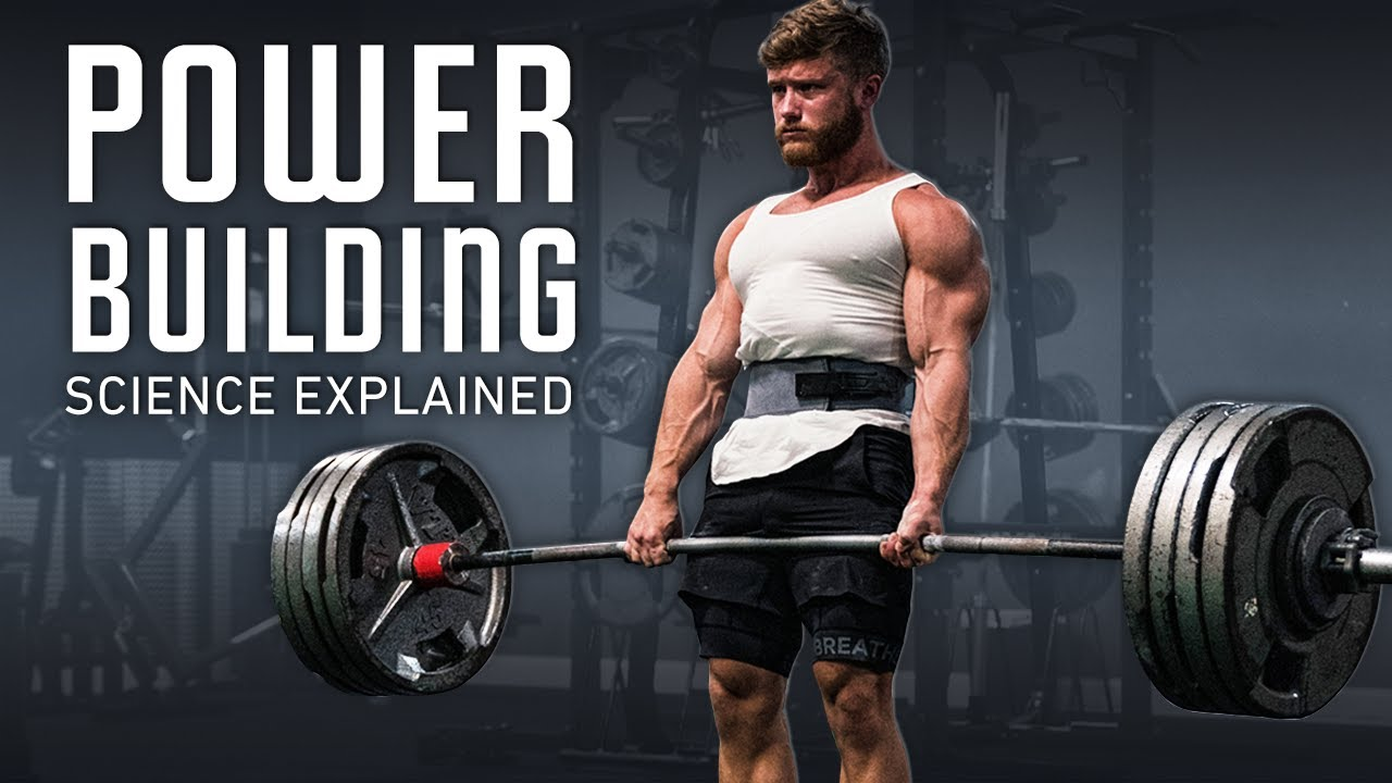 Download How To Get Bigger & Stronger At The Same Time (Powerbuilding Science Explained)