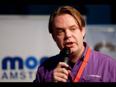 Rick Falkvinge - Copyright Industries vs. Civil Liberties