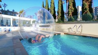 24 Hour Challenge in a BUBBLE!