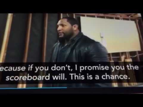 Ray Lewis SuperBowl 51 pregame speech to Patriots