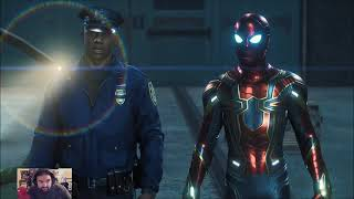 SPIDER-MAN PS4 Playthrough Gameplay Part 12- HELPING THE POLICE (Marvel's Spider-Man)