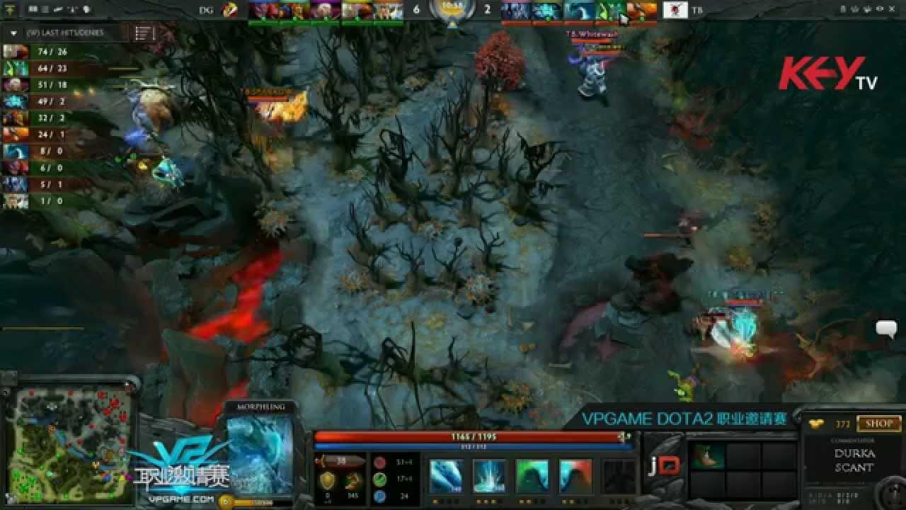 DG Vs Terror Blade Game 2 VPGame Pro League