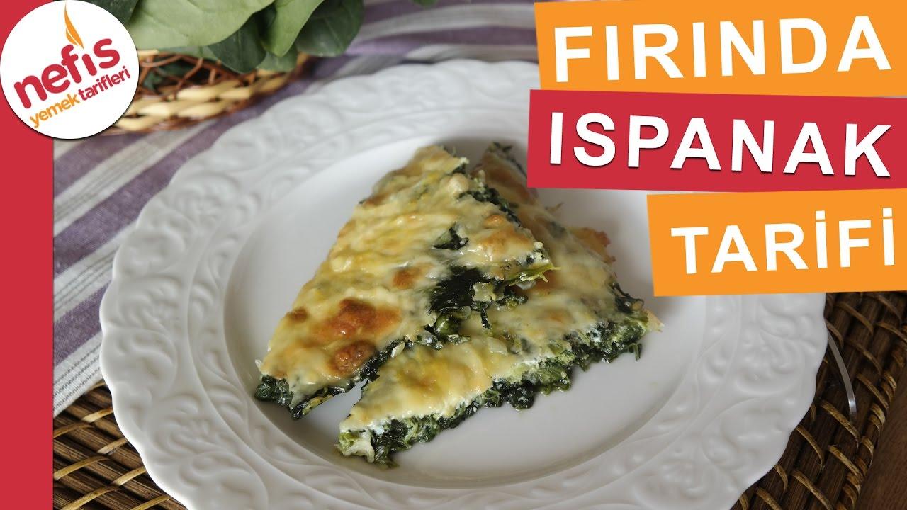 Firinda Ispanak Tarifi Sebze Yemek Tarifleri Nefis Yemek
