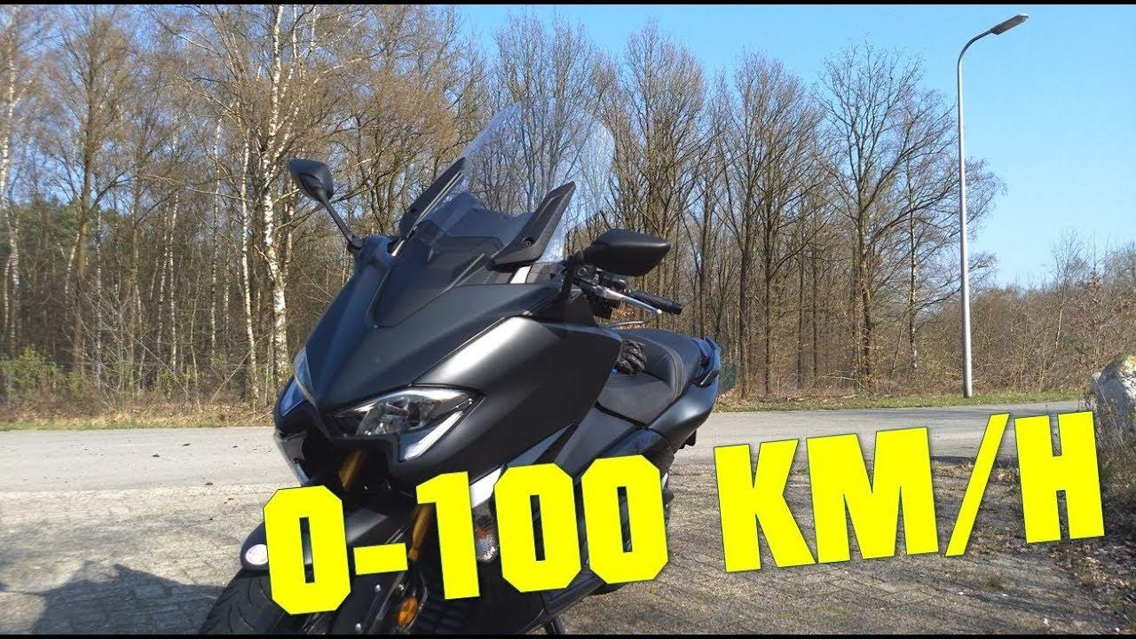 2019 Yamaha Tmax Sx 0 100 Kmh 0 60 Mph S Mode T Mode