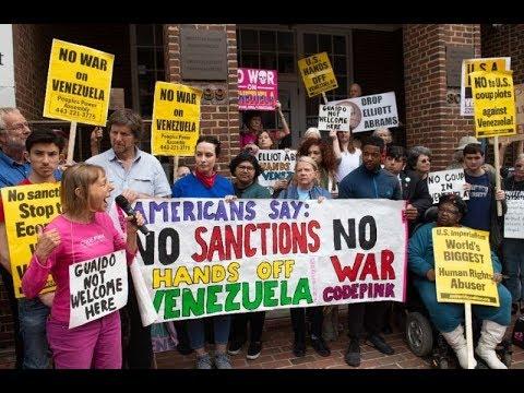 Anya Parampil from Inside the Venezuelan Embassy in Washington, D.C.