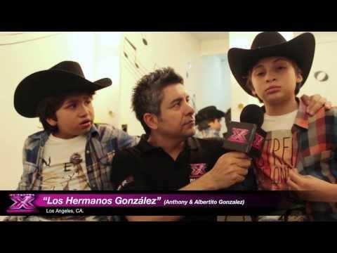 The X Factor: Interview de Hermanos González (Gala Elimination)