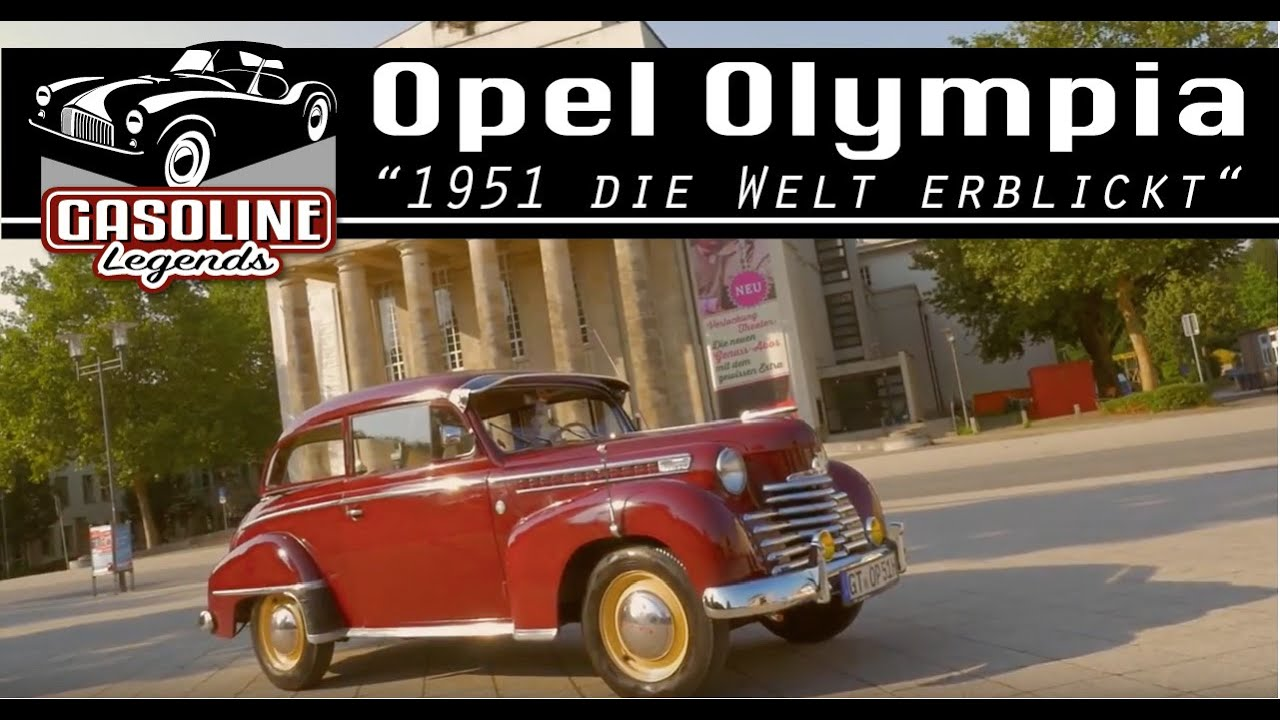 1951 opel olympia youtube. Black Bedroom Furniture Sets. Home Design Ideas