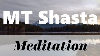 Mount Shasta meditation by Ayelet Segal