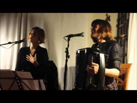 Carola Ortiz & Edurne Arizu - Bart Home Concert, Abril 2015
