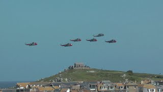 A VALEDICTORY SLICE OF St IVES - FAREWELL TO THE SEA KINGS