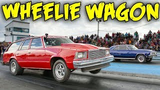 This Wagon CANNOT Stop Doing WHEELIES!