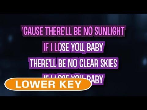 It Will Rain (Karaoke Lower Key) - Bruno Mars
