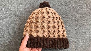 Easy Crochet Hat/Three size Beautiful Crochet Hat