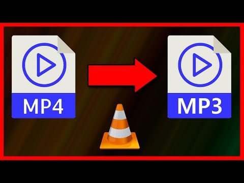 How to convert MP4 video to MP3 audio using VLC Media Player (2020)