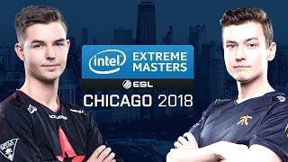 CS:GO - Astralis vs. Fnatic [Mirage] Map 2 - Semifinals - IEM Chicago 2018