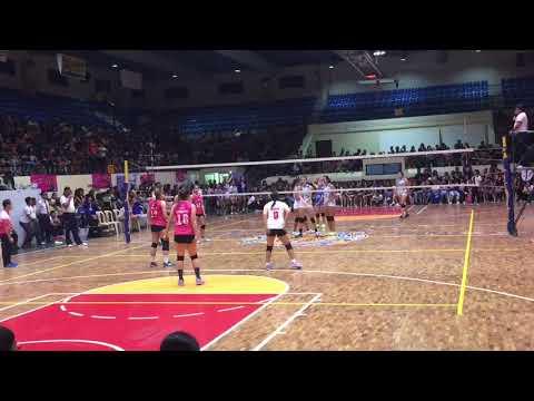 Ateneo Lady Eagles vs Creamline Cool Smashers Set 2