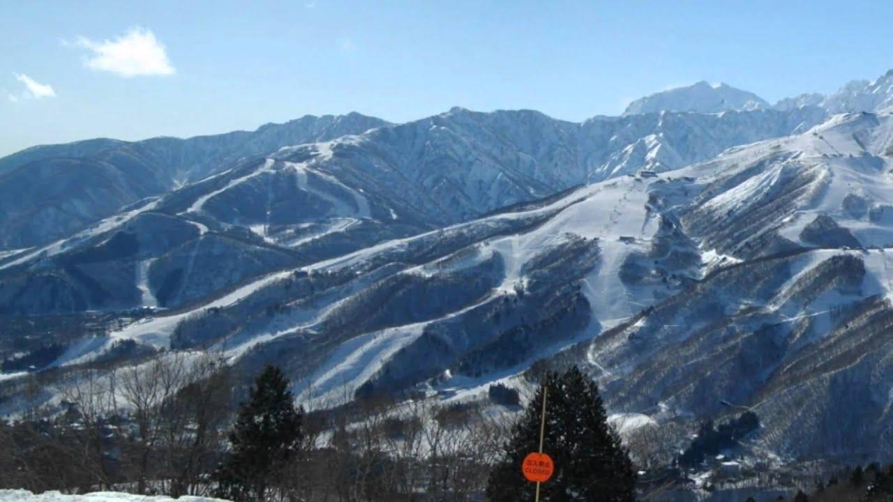 白馬巖岳スキー場 - YouTube