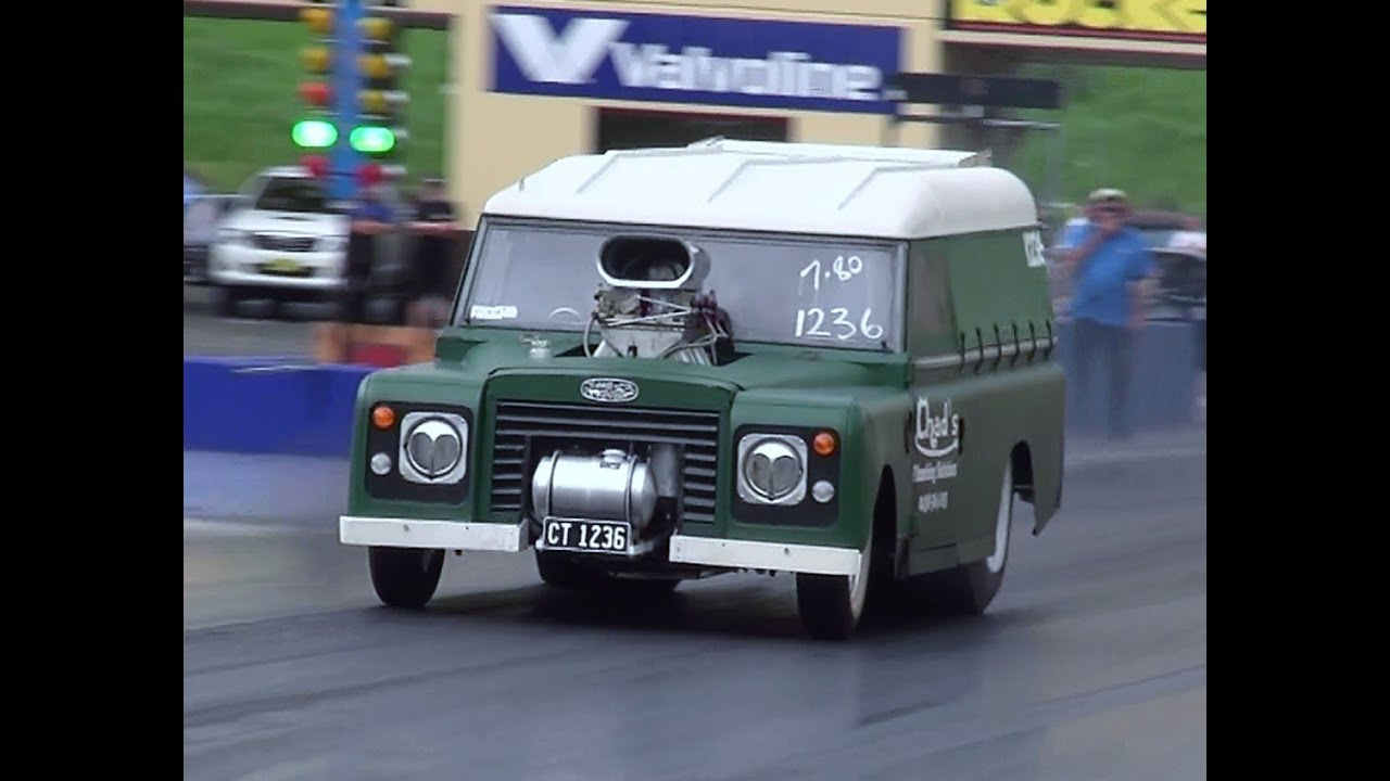 Land Rover Discovery >> CHAD'S PLUMBING LAND ROVER V8 DRAG CAR RUNS 7.87 @ 172 MPH ...