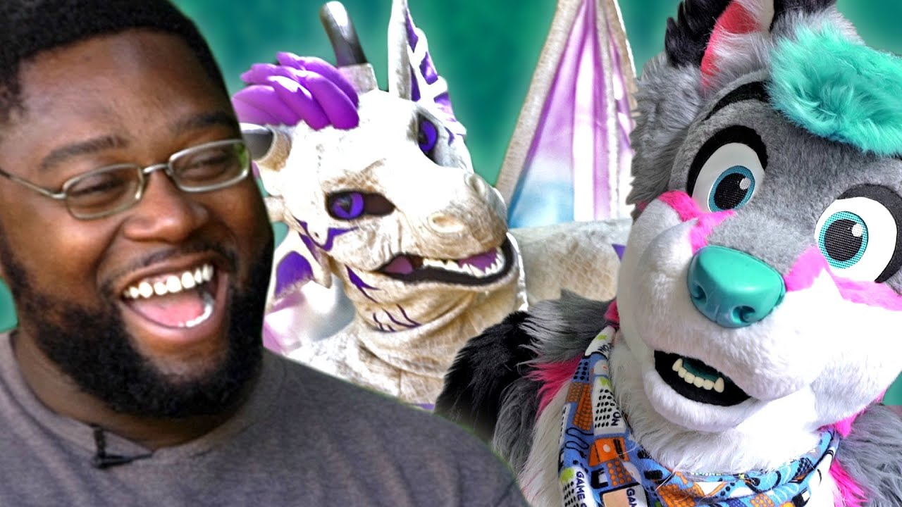 Furries Surprise Strangers For The First Time