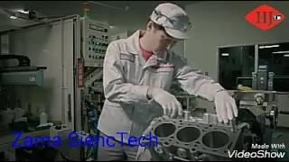 Montage de moteur Nissan