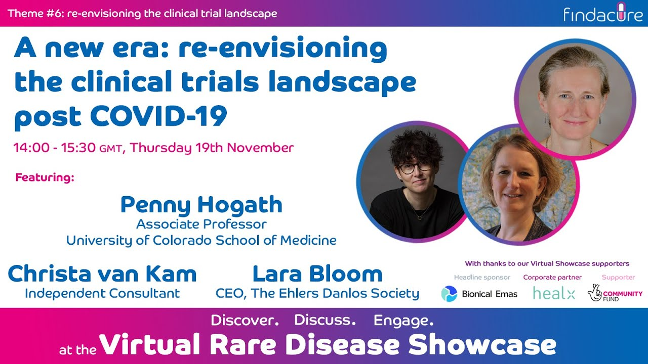 Findacure: The Virtual Rare Disease Showcase - The Clinical Trial Landscape Post COVID-19