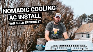 Van Build Air Conditioning  | NOMADIC COOLING 12V Air Conditioner Install