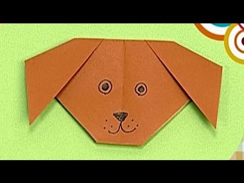 How To Make A Paper Dog Tutorial Paper Friends 38 Origami For