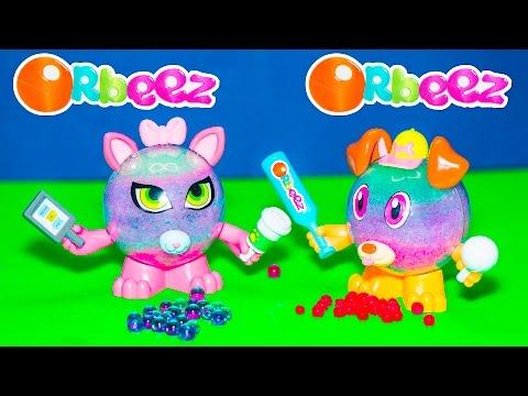 ORBEEZ CRUSH Orbeez Crushkins Pets + Planet Orbeez Surprise Colors Video Toy Unboxing