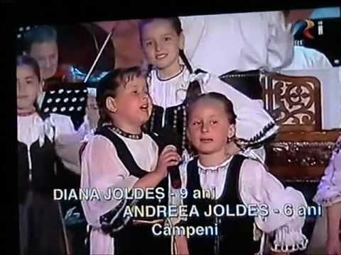 Muguri de tezaur: Diana (9 ani) si Andreea JOLDES (6 ani)