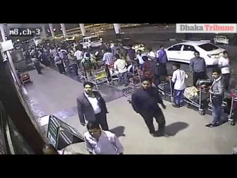 Exclusive: Knife attack at Dhaka airport