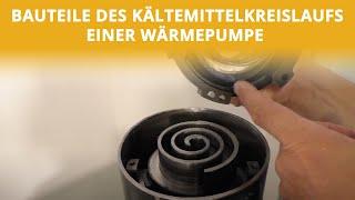 Bauteile des Kältemittelkreislaufs | Höcker Wärmepumpen