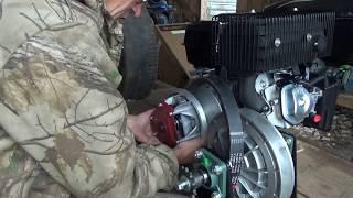 Приобрёл двигатель Лифан 17л.с.