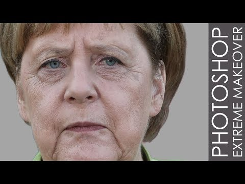 Photoshop Extreme Makeover - #41 Angela Merkel