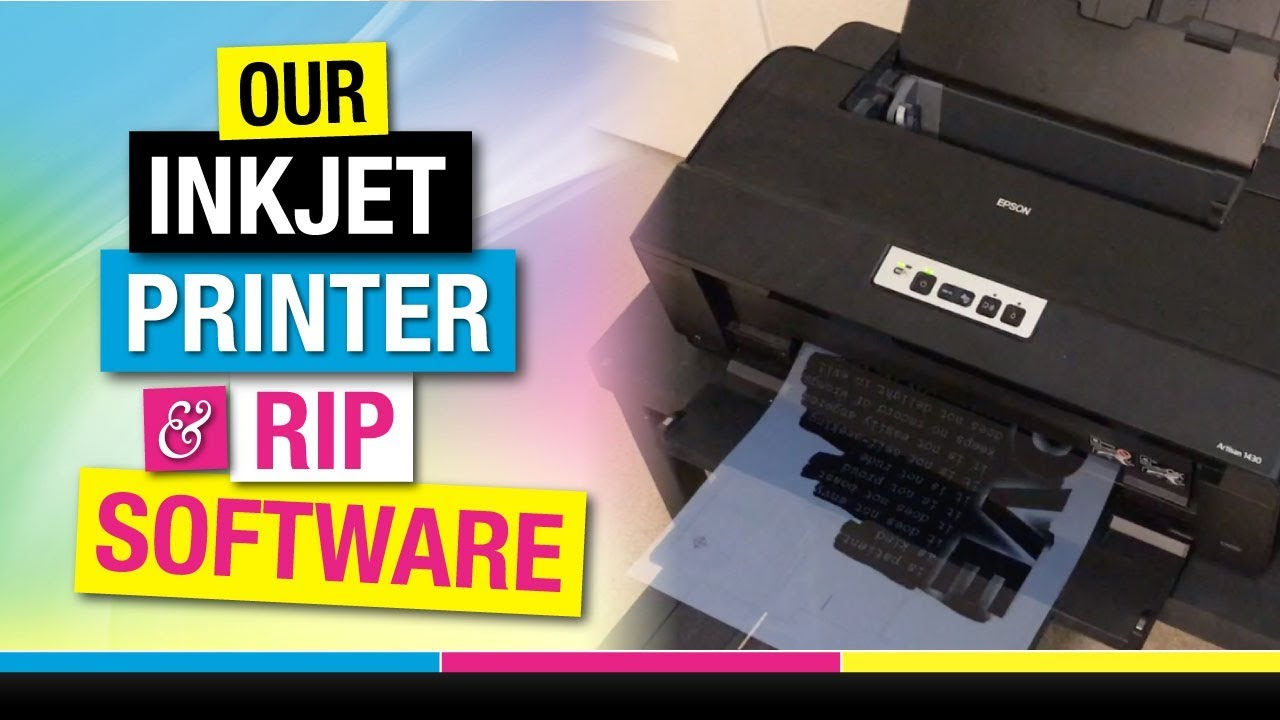 Epson 1430 for Screen Printing Film Positives | How to Screen Print