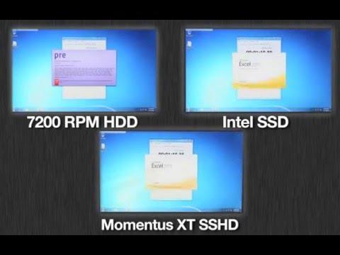 SSD vs Hard Drive vs SSHD (Hybrid Hard Drive) Boot Up Time Comparison