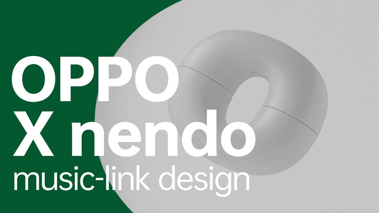 """""""music-link"""" Design   OPPO x nendo"""