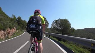 60 Minute Uphill Training Indoor Cycling turbo trainer Workout Motivation Spain 2018