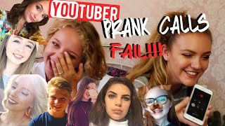 YOUTUBER PRANK CALLS!! (FAIL) | BeautySpectrum