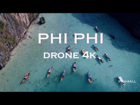 Koh Phi Phi - Thailand travel - 4K drone footage - DJI Mavic Pro - Top4ALL