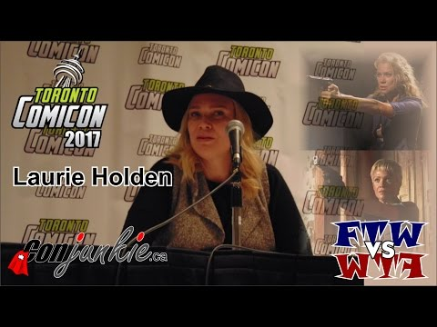 The Walking Dead's Laurie Holden  Toronto ComiCon 2017  Full Panel
