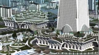 В Чечне строят небоскрёб Ахмат-тауэр