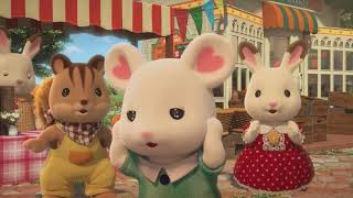 Sylvanian Families Christopher Marshmallow - Forest Helpers Clip
