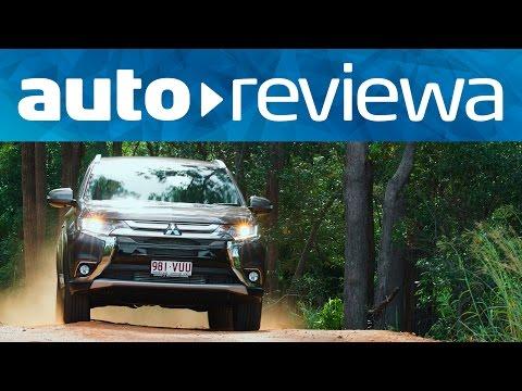 2016, 2017 Mitsubishi Outlander Video Review - Australia