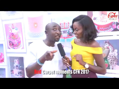 Cake Festival Nigeria 2017 Red Carpet moments