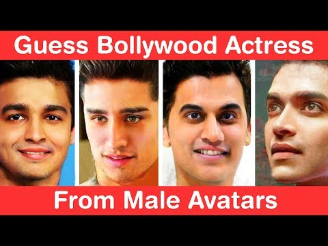 Guess 28 Bollywood Actress from Male Avatars! Ultimate Mard Challenge