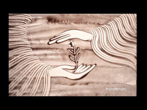 Recreate Nepal ......hope for tomorrow : Sandart by Nitish Bharti