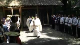 伊勢 伊雑宮 御田植祭 2011/6/24