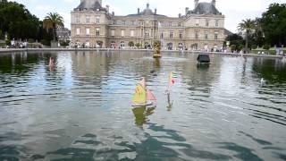 I giardini del Lussemburgo di Parigi