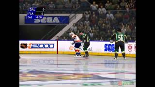 NHL 2K - Gameplay Dreamcast HD 720P